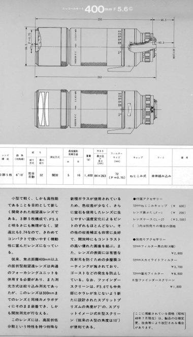 400mmf56ca